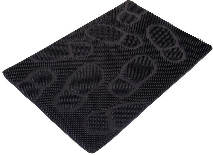 Коврик Sindbad, напольный, цвет: черный, 40 х 60 см. RB 073RB 073Коврик Sindbad изготовлен из прочной резины высокого качества. Коврик легко моется водой. Изделие не меняет цвет со временем, не гниет, что гарантирует долгий срок службы. Эффективно очищает обувь от сильных загрязнений. Коврик обладает противоскользящим эффектом. Изделие прекрасно защищает от песка, грязи и пыли.