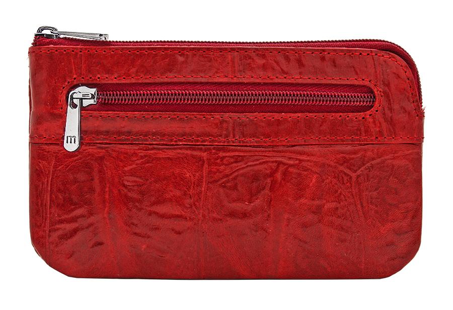 Ключница женская Malgrado, цвет: красный. 50501-2910250501-29102# RedКлючница Malgrado изготовлена из натуральной высококачественной кожи с тиснением под рептилию. Закрывается на застежку-молнию. Внутри содержится металлическая цепочка с кольцом для ключей. Тыльная сторона дополнена прорезным карманом на застежке-молнии. Стильная ключница эффектно дополнит ваш образ и станет незаменимым аксессуаром на каждый день. Изделие упаковано в фирменную коробку.