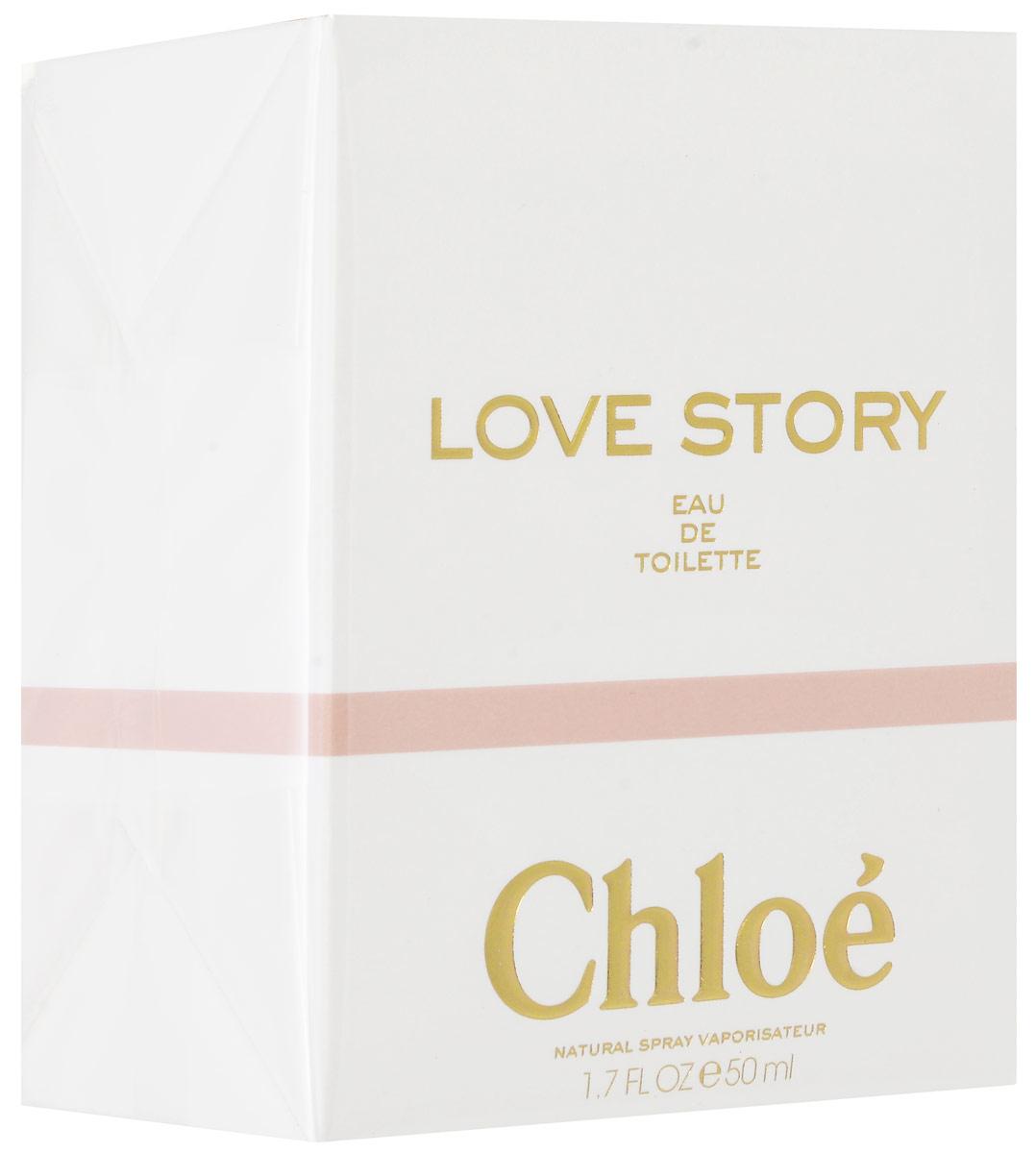 Chloe Love Story  Туалетная вода женская 50 мл64990441000Восхитительная новинка 2014 года. Модный Дом Chloe представляет волнующий и романтический аромат Love Story. В его аккордах просматриваются черты шарма Парижа. Представьте, не спешная прогулка старинным городом, вы и он. И вдруг воздух заполняют прекрасны