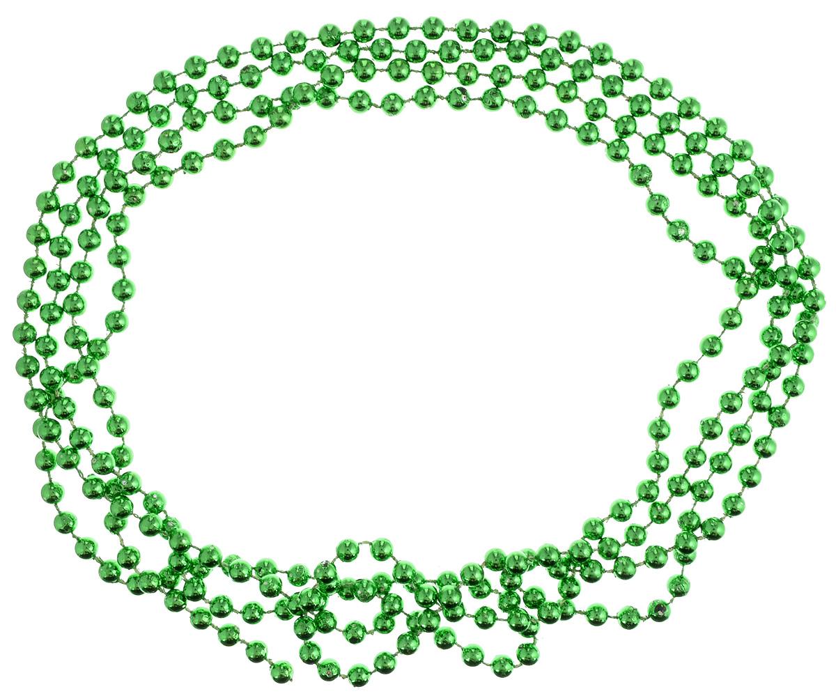 Украшение новогоднее B&H Бусы, цвет: зеленый, 2,5 мBH1048_зелёныйНовогоднее украшение B&H Бусы, изготовленное из высококачественного пластика, прекрасно подойдет для декора дома или новогодней ели. Такие бусы создадут сказочную атмосферу и подарят ощущение праздника. Откройте для себя удивительный мир сказок. Почувствуйте волшебные минуты ожидания праздника, создайте новогоднее настроение вашим родным и близким.