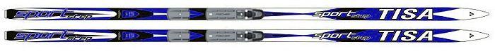 Беговые лыжи Tisa Sport Step Jr., с креплением, 170 см. N91412N91412Классические лыжи для начинающих и любителей лыжных прогулок. Деревянный сердечник Air Channel, синтетическая скользящая поверхность и обработка Ultra Tuning обеспечивают отличное скольжение. Лыжи Step - c насечками T-scale. (made by Fischer).