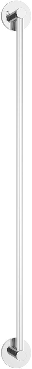 Держатель для полотенца Grohe Essentials, длина 60 см40366001Держатель для полотенца Grohe Essentials изготовлен из латуни. Держатель предназначен для полотенца средних размеров (может вмещать полотенца до 60 см шириной). Универсальный дизайн и функциональность позволит вписаться изделию и интерьер любой ванной комнаты. Держатель изготовлен с нанесением износостойкого покрытия Grohe StarLight®, устойчивого к царапинам и загрязнению. Покрытие, выполненное по специальным технологиям, придает изделию сияющий вид. Держатель крепится к стене при помощи шурупов, входящих в комплект.