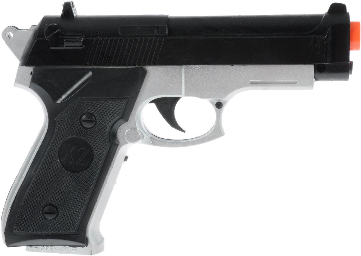 Играем вместе Игрушечный набор полицейскогоB404508-RИгрушечный набор полицейского Играем вместе - это идеальная игрушка, которая позволит юному защитнику справедливости полностью вжиться в роль. В комплект входит все, что необходимо - удостоверение и пистолет. Разве нужно храброму сердцу что-то еще? Игрушка снабжена световыми и звуковыми эффектами, чтобы придать игре реалистичности и азарта. Порадуйте своего юного работника правопорядка таким замечательным подарком.