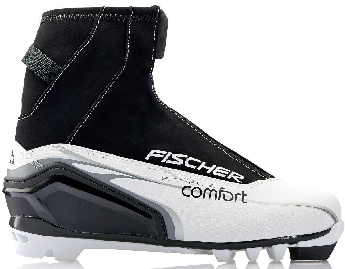 Ботинки лыжные беговые Fischer XC Comfort My Style, цвет: черный, желтый, белый. S29914. Размер 39S29914Для стильных лыжниц. Высокий клапан на молнии и водоотталкивающий утеплитель Comfort Guard защищает от холода и проникновения влаги при катании. ТЕХНОЛОГИИ LADIES FIT CONCEPT Для женской целевой группы разработан свой тип колодки, который обеспечивает наилучший комфорт при катании и максимальную передачу энергии. SPORT FIT CONCEPT Для каждой целевой группы разработан свой тип колодки, который обеспечивает наилучший комфорт при катании и максимальную передачу энергии. INTERNAL MOLDED HEEL CAP Внутренняя пластиковая вставка анатомической формы в пяточной части. Очень легкая и термоформируемая. FISCHER SPEED LOCK Система быстрой застежки для профессиональной экипировки. Надежное держание и простота использования. THERMO FIT Термоформируемый материал внутреннего ботинка обладает прекрасными изоляционными свойствами и легко адаптируется по ноге.