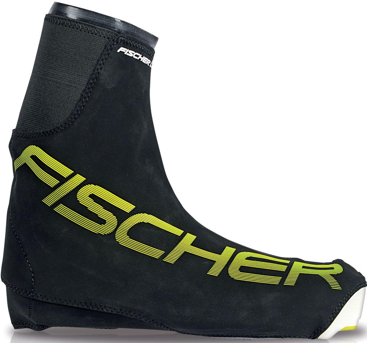 Чехлы для лыжных ботинок Fischer Bootcover Race, размер XL. S43115S43115Практичный и удобный чехол для лыжных ботинок Fischer BootCover Race станет незаменимым помощником на тренировках, разминках и просто в холодную погоду. Он надежно защитит ноги от холода и влаги.