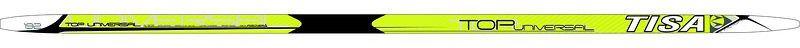 Беговые лыжи Tisa Top Universal, с креплением, 197 см. N91215N91215Универсальные лыжи для любителей и начинающих лыжников. Конструкция Air Channel делает лыжи легкими, а обработка скользящей поверхности Ultra Tuning - быстрыми. Усиленные канты обеспечивают дополнительную торсионную жесткость.