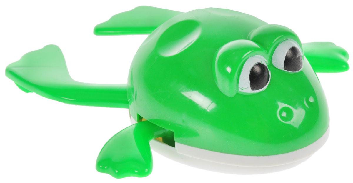 Играем вместе Игрушка для ванной заводная ЛягушонокB867508-RЯркая и красочная заводная рыбка Играем вместе увлечет вашего малыша с первых секунд. Теперь купание в ванной станет еще более увлекательным и радостным. Принцип работы очень прост, вам нужно завести механизм при помощи специального рычага и опустить рыбку в воду. Она тут же поплывет, приводя в восторг вашего ребенка. Игрушка для ванной способствует развитию воображения, цветового восприятия, тактильных ощущений и мелкой моторики рук.
