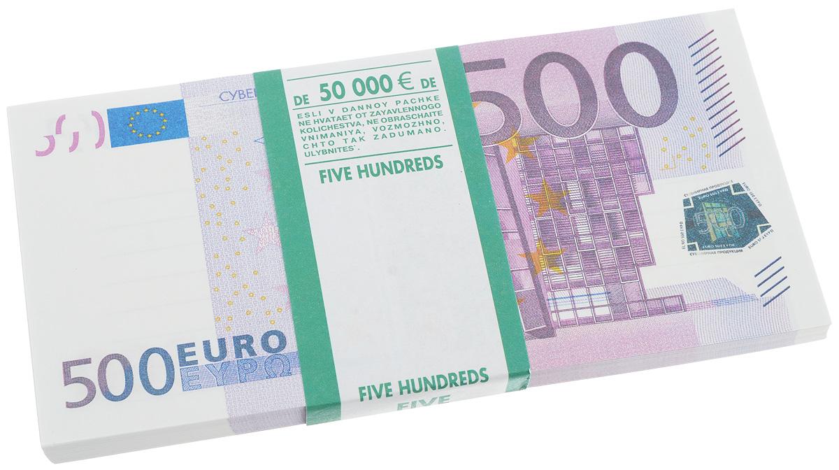 Блокнот Эврика Пачка 500 евро, 95 листов95525Блокнот Эврика Пачка 500 евро - это яркий аксессуар для тех, кто ценит практичные и оригинальные вещи. Блокнот состоит из 95 разноцветных линованных листов. Такой оригинальный блокнот поможет вам записать важные мысли и заметки, а его внешний вид не позволит затеряться среди других вещей на вашем столе. Размер одного листа: 7,5 х 15,6 см.