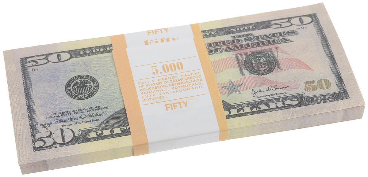 Блокнот Эврика Пачка 50 долларов, 85 листов95528Блокнот Эврика Пачка 50 долларов - это яркий аксессуар для тех, кто ценит практичные и оригинальные вещи. Блокнот состоит из 85 разноцветных линованных листов. Такой оригинальный блокнот поможет вам записать важные мысли и заметки, а его внешний вид не позволит затеряться среди других вещей на вашем столе. Размер одного листа: 6,2 х 15,5 см.