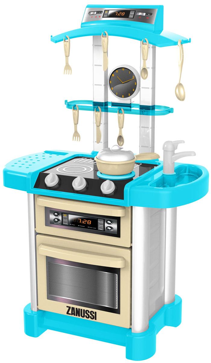 HTI Игрушечная электронная кухня Zanussi1684053.00Многие девочки уже в детстве представляют, как они, повзрослев, будут экспериментировать на кухне, поражать свою семью кулинарными изысками. Но уже сейчас у малышек есть возможность разыграть этот сюжет, воспользовавшись кухней из набора HTI Zanussi. Помимо самой конструкции с бытовыми приборами, в комплекте также имеется яркий набор посуды, который добавит реалистичности процессу игры. А звуковые и световые эффекты поднимут настроение будущей хозяйке и перенесут ее в атмосферу настоящей кухни. Этот набор позволит ребенку устроить в детской комнате импровизированную кухню и придумать интересный сюжет для игры. Если повернуть ручку на плите, то конфорка загорится как у настоящего бытового прибора, а если поставить на нее кастрюлю, то можно услышать звуки готовящейся пищи. На корпусе игровой конструкции также предусмотрен таймер, который реалистично тикает, отсчитывая время для готовки. Внутри духовки находится удобная решетка, на которую можно поставить кастрюлю и имитировать...
