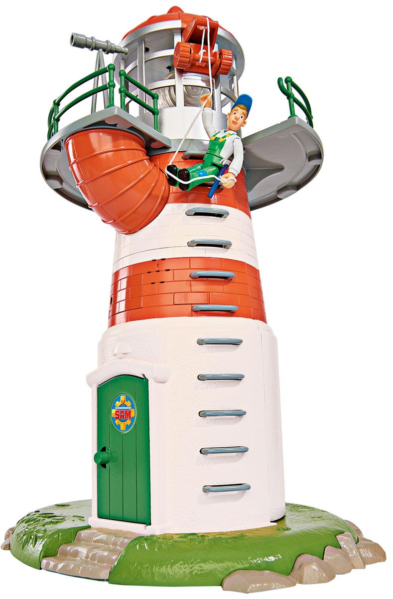 Dickie Toys Игровой набор Маяк9252133Игровой набор Dickie Toys Маяк выполнен по мотивам мультфильма Пожарный Сэм. При помощи данного набора ребенок сможет почувствовать себя самым настоящим пожарным. Помимо фигурки Сэма и маяка, в набор входит все необходимое для строительства пожарной станции. Также некоторые элементы из набора могут издавать звуки, а маяк может мигать и светится - совсем как настоящий. С таким набором малыш сможет устраивать спасательные операции, воспроизводя сцены из мультфильма или придумывая новые истории. Для работы игрушки необходимо приобрести 3 батарейки напряжением 1,5 V типа LR 44 (товар комплектуется демонстрационными).