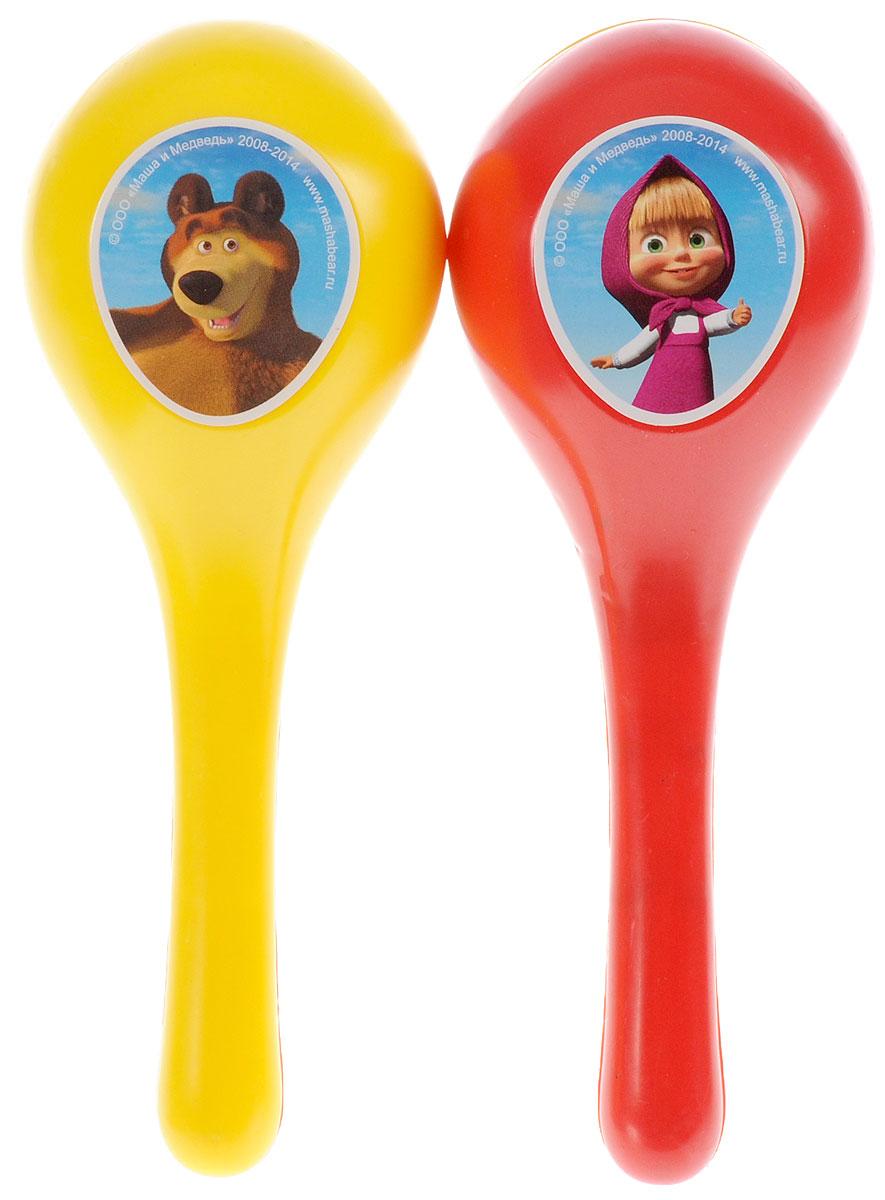 Играем вместе Маракасы Маша и МедведьB409790-R2Маракасы Играем вместе Маша и Медведь не позволят скучать вашему малышу. Они выполнены из безопасного и прочного пластика, оформлены изображениями персонажей мультфильма Маша и Медведь. Все знают, что озорная девочка Маша очень любит пошалить, а еще она любит играть на музыкальных инструментах. Талантливая девочка приглашает деток присоединиться к ней и устроить настоящий концерт. Яркая расцветка маракасов привлечет внимание и поднимет настроение малыша. Эта веселая игрушка поможет привить ребенку любовь к музыке. Маракасы Играем вместе Маша и Медведь поможет развить слух, чувство ритма и музыкальные способности малыша, и он порадует вас веселым концертом!