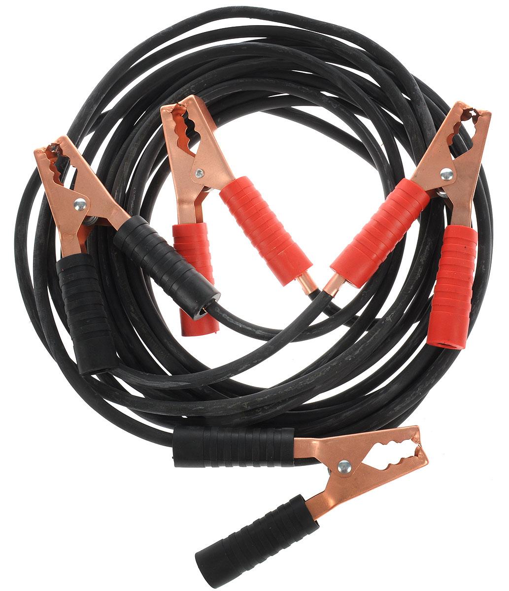 Провода стартовые Орион авто, хладостойкие, в сумке, 500А, 4,5 м5066Провода стартовые Орион авто предназначены для запуска двигателя автомобиля с разряженной аккумуляторной батареей от аккумулятора другого автомобиля. Особенности проводов: -Морозостойкий эластичный кабель в резиновой изоляции -Многожильный медный проводник. -Полностью изолированные зажимы. -Надежные пропаянные соединения провода с зажимами. -Температура эксплуатации от -50°С до +80°С. Ток: 500 А. Длина проводов: 4,5 м.
