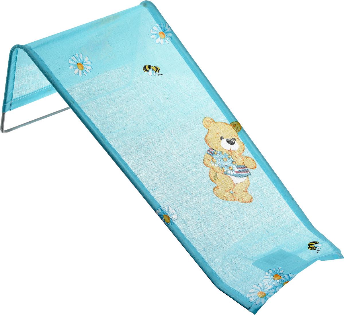 Фея Подставка для купания Мишки и ромашки1332-01_голубой, желтый, красныйПодставка для купания Фея Мишки и ромашки - это удобный способ мытья и прекрасная возможность побаловать вашего малыша. Эргономичный дизайн подставки разработан специально для комфорта и безопасности вашего ребенка. Основу подставки составляет металлический каркас, обтянутый тканью. Подарите своему малышу радость и комфорт во время купания! Подставка предназначена для купания детей в возрасте до 1 года. Фея - это качественные и надежные товары для малышей, которые может позволить себе каждая семья! Правила ухода за чехлом: после использования хорошо просушить. Запрещается использование моющих средств содержащих щелочь.