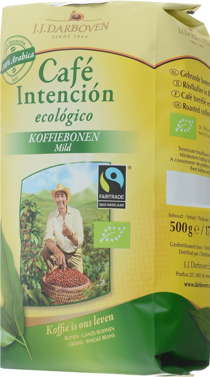 J.J. Darboven Intencion Ecologico кофе в зернах, 500 г4006581020761Кофе в зернах J.J. Darboven Intencion Ecologico - кофе высшего качества, закупается напрямую с фермерских хозяйств, которые выращивают кофе на высокогорных плантациях, сертифицированных как экологически чистые по стандартам био. Бодрящий кофейный напиток, поднимает настроение, тонизирует. Обладает удивительным вкусом и нежным ароматом.