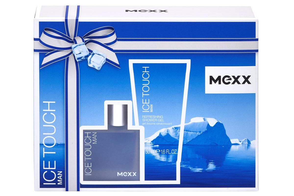Mexx Ice Touch Подарочный набор мужской: Туалетная вода, 30 мл + Гель для душа, 50 мл730870148822Mexx Ice Touch Man - это искрящиеся пылкие чувства и игривые отношения. Бодрящая и соблазнительная прохлада тающего на коже льда, лежащая в основе аромата, освежит твои чувства. Мужественная верхняя нота, наполненная водной свежестью душистого розового грейпфрута и зеленого яблока, оттеняется нотами кедровой хвои в сердце, а базовые аккорды сандалового дерева, пачули и амбры завершают аромат, даря яркие ощущения. MEXX Ice Touch Man - это интенсивная свежесть, дразнящая прохлада и неоспоримая мужественность.