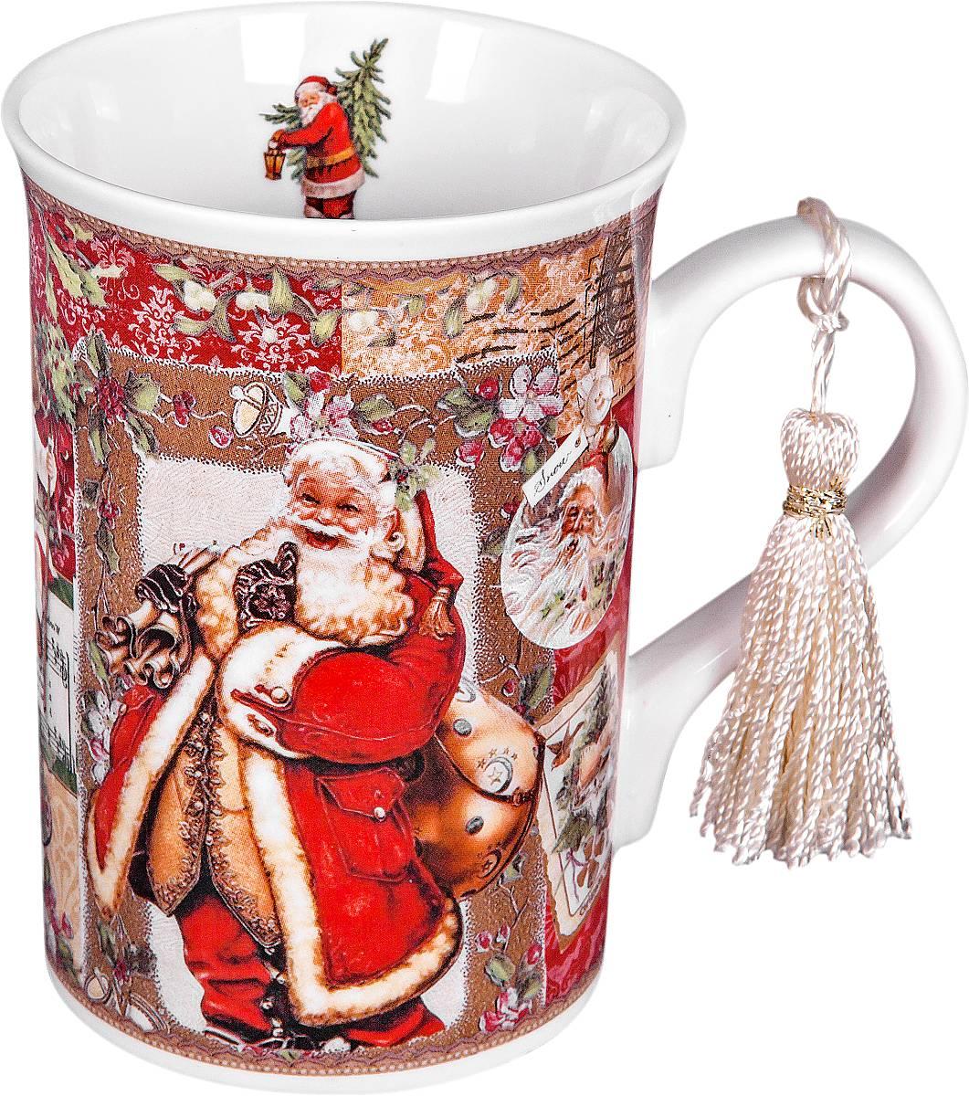 Кружка Mister Christmas Дед Мороз, высота 11 смBR-M10Кружка Mister Christmas Дед Мороз изготовлена из качественного глазурованного фарфора. Внешние стенки декорированы красивыми новогодними рисунками. Такая кружка согреет вас горячим напитком и станет неизменным атрибутом чаепития. Отличный новогодний подарок для друзей и близких.