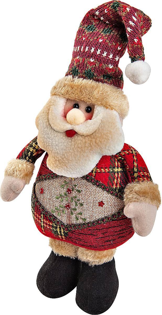 Игрушка новогодняя мягкая Mister Christmas Дед Мороз, высота 28 смCHL-500SNМягкая новогодняя игрушка Mister Christmas Снеговик, изготовленная из текстиля, прекрасно подойдет для праздничного декора дома. Изделие можно разместить в любом понравившемся вам месте. Новогодняя игрушка несет в себе волшебство и красоту праздника. Создайте в своем доме атмосферу веселья и радости, украшая дом красивыми игрушками, которые будут из года в год накапливать теплоту воспоминаний. Высота игрушки: 28 см.