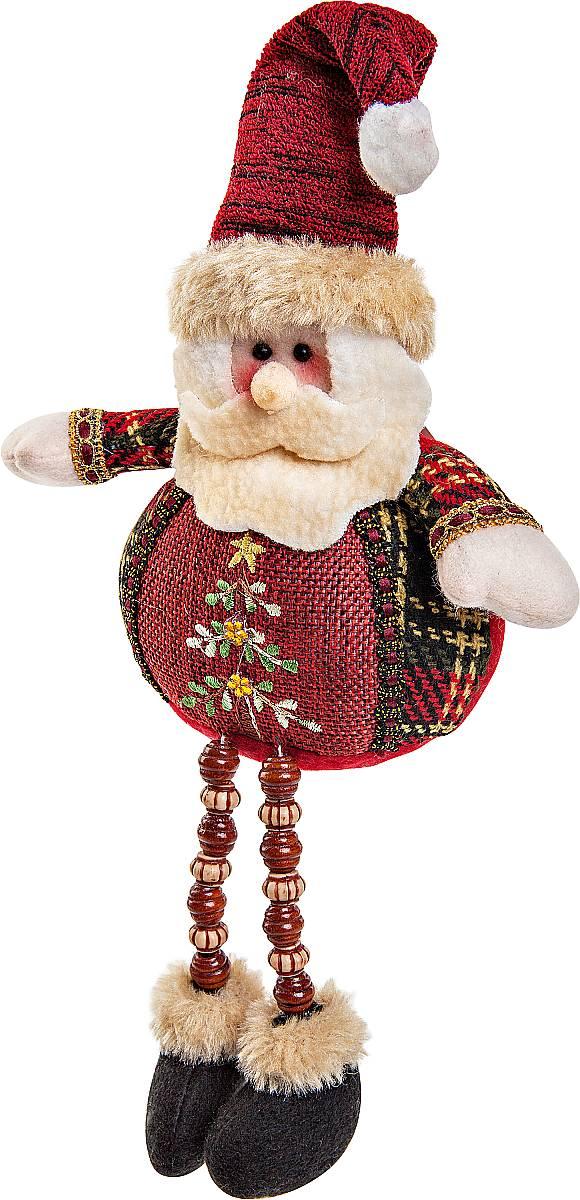 Игрушка новогодняя мягкая Mister Christmas Дед Мороз, высота 23 смCHL-504SNМягкая новогодняя игрушка Mister Christmas Снеговик, изготовленная из текстиля, прекрасно подойдет для праздничного декора дома. Изделие можно разместить в любом понравившемся вам месте. Новогодняя игрушка несет в себе волшебство и красоту праздника. Создайте в своем доме атмосферу веселья и радости, украшая дом красивыми игрушками, которые будут из года в год накапливать теплоту воспоминаний. Высота игрушки: 23 см.