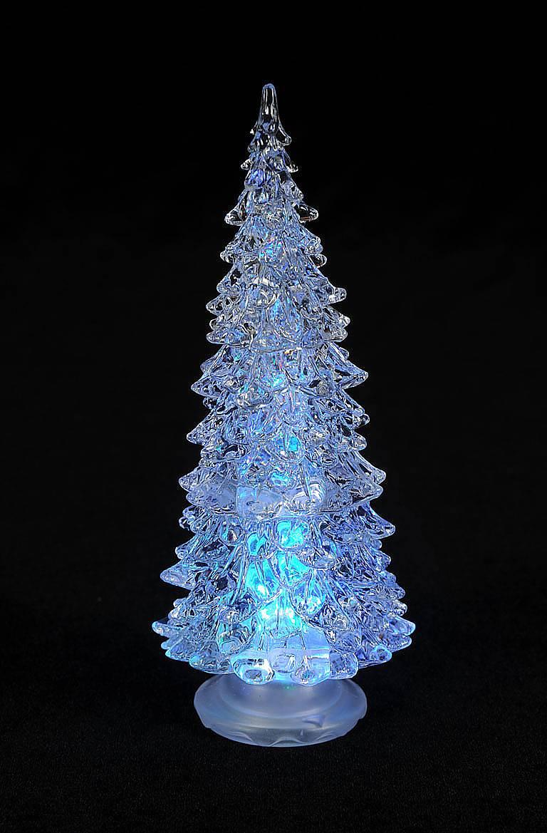 Елка светодиодная Mister Christmas, высота 20 смCT-RGB-20Светодиодная елка Mister Christmas прекрасно подходит для оформления праздничного интерьера и создания новогодней атмосферы. Елка, выполненная из высококачественного пластика, попеременно подсвечивается разноцветными светодиодными огоньками и создает таинственную романтическую обстановку. Благодаря такой оригинальной светодиодной елочке ваши праздники и будни окрасятся в новые цвета. Изделие работает от 2 батареек типа CR1220 (входят в комплект).