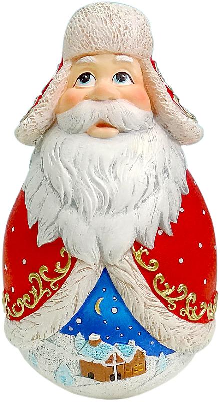 Фигурка-неваляшка новогодняя Mister Christmas Дед Мороз, высота 11 см. DKMB-03DKMB-03Новогодняя фигурка-неваляшка Mister Christmas Дед Мороз выполнена из высококачественного полистоуна. Изделие представлено виде Деда Мороза с густыми усами и бородой, он одет в шубу и шапку-ушанку. Игрушка изготовлена полностью вручную, что делает ее не только оригинальным, но эксклюзивным сувениром. Такая фигурка оформит интерьер вашего дома или офиса в преддверии Нового года. Кроме того, это отличный вариант подарка для ваших близких и друзей. Высота: 11 см.