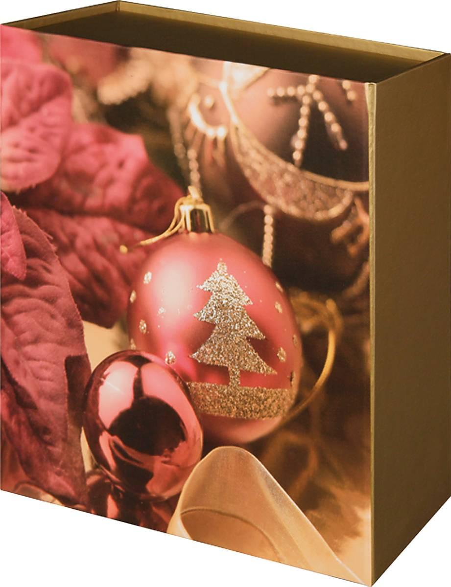 Коробка подарочная Mister Christmas, складная, 21 х 19,5 х 6,5 см. GH-FB-2GH-FB-2