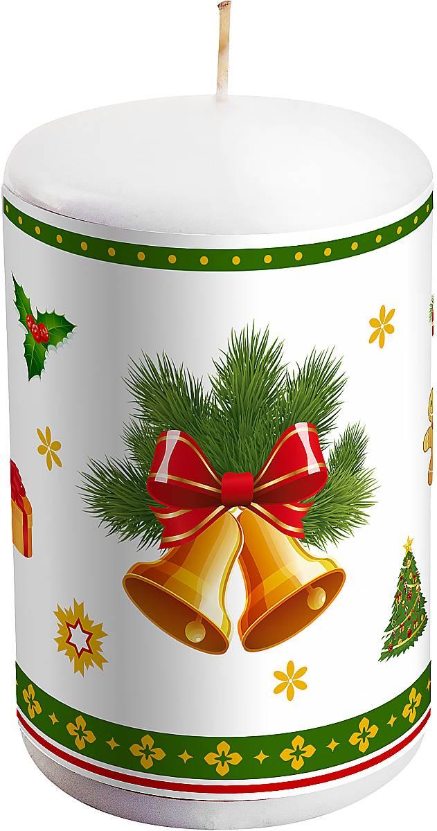 Свеча новогодняя Mister Christmas Колокольчики, высота 10 смKG-1B