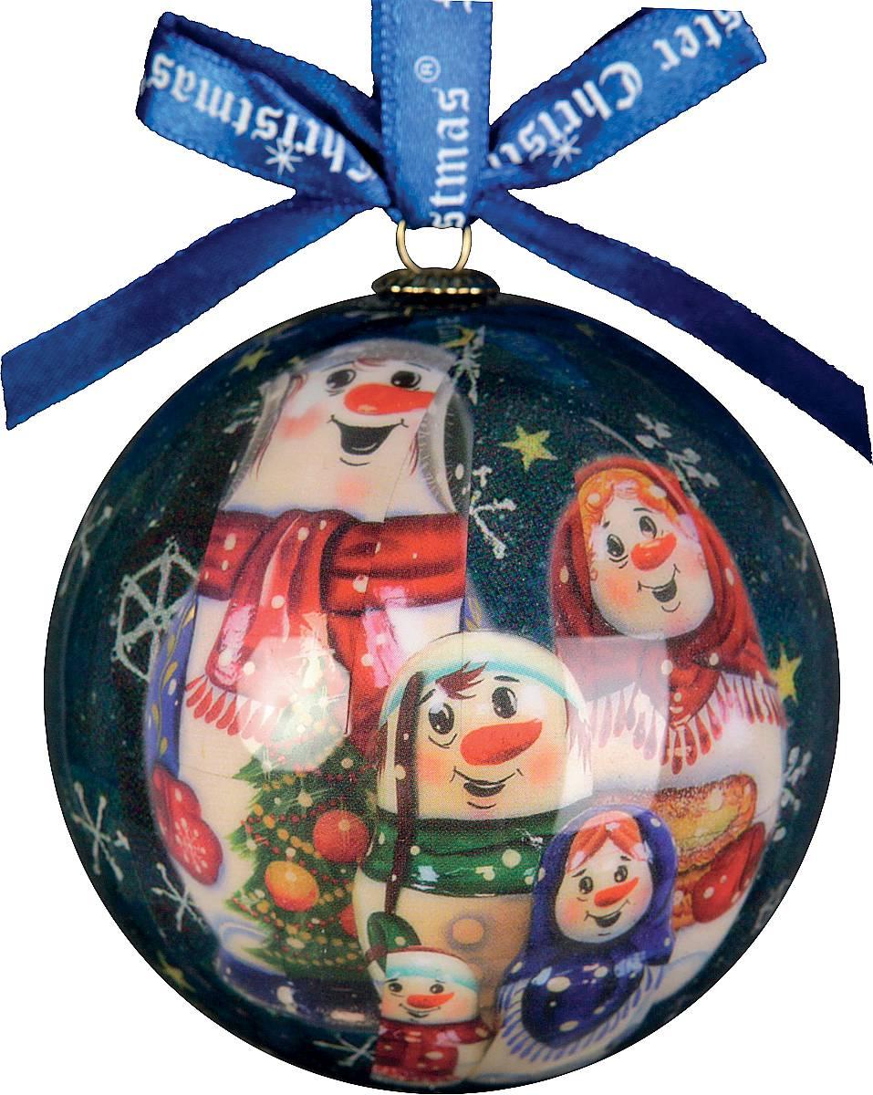 Украшение новогоднее подвесное Mister Christmas Папье-маше, диаметр 7,5 см. PM-5-1GPM-5-1GПодвесное украшение Mister Christmas Папье-маше выполнено вручную из бумаги и покрыто несколькими слоями лака. Такой шар очень легкий, но в то же время удивительно прочный. На создание одной такой игрушки уходит несколько дней. И в результате получается настоящее произведение искусства! Изделие оснащено атласной ленточкой с логотипом бренда Mister Christmas для подвешивания. Такое украшение станет превосходным подарком к Новому году, а так же дополнит коллекцию оригинальных новогодних елочных игрушек.