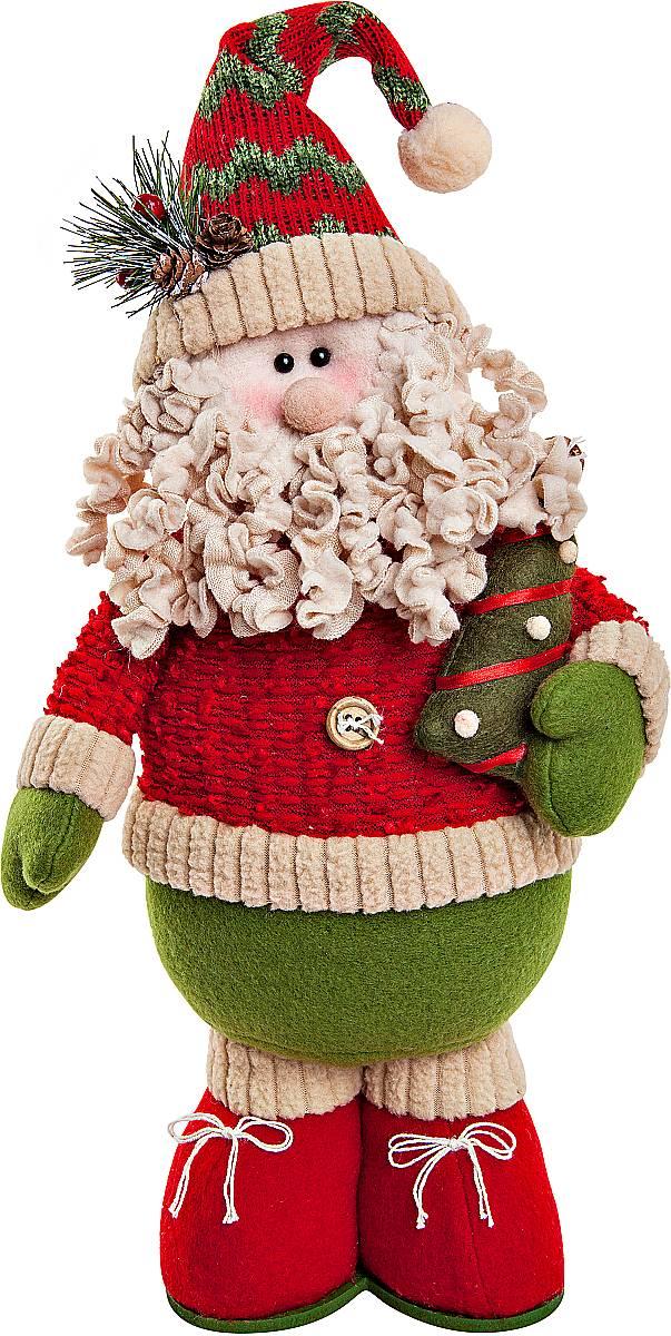 Игрушка новогодняя мягкая Mister Christmas Дед Мороз, высота 38 смSP-01-DMМягкая новогодняя игрушка Mister Christmas Дед Мороз, изготовленная из текстиля, прекрасно подойдет для праздничного декора дома. Изделие можно разместить в любом понравившемся вам месте. Новогодняя игрушка несет в себе волшебство и красоту праздника. Создайте в своем доме атмосферу веселья и радости, украшая дом красивыми игрушками, которые будут из года в год накапливать теплоту воспоминаний. Высота игрушки: 38 см.