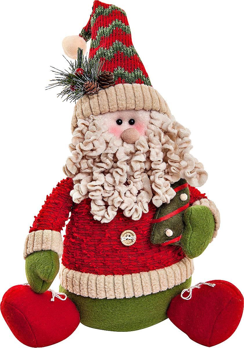 Игрушка новогодняя мягкая Mister Christmas Дед Мороз, высота 35 смSP-02-DMМягкая новогодняя игрушка Mister Christmas Дед Мороз, изготовленная из текстиля, прекрасно подойдет для праздничного декора дома. Изделие можно разместить в любом понравившемся вам месте. Новогодняя игрушка несет в себе волшебство и красоту праздника. Создайте в своем доме атмосферу веселья и радости, украшая дом красивыми игрушками, которые будут из года в год накапливать теплоту воспоминаний. Высота игрушки: 35 см.