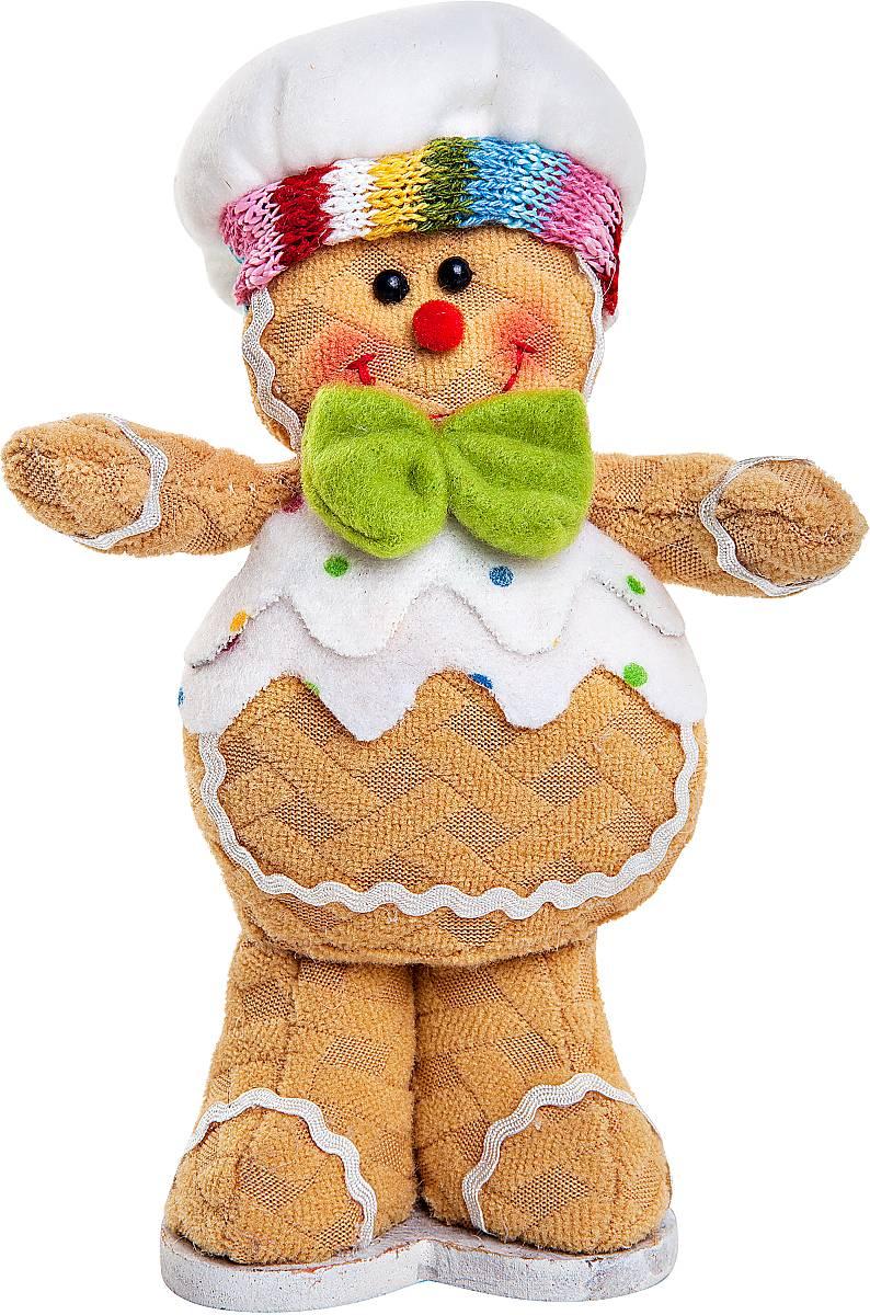 Игрушка декоративная Mister Christmas Пряничный мальчик, мягкая, высота 17 см. SPP-13-MSPP-13-M