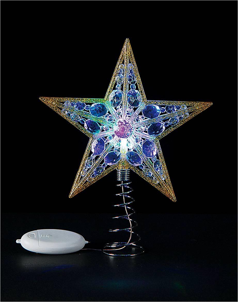 Верхушка на елку Mister Christmas Звезда, светодиодная, высота 30,5 смTT-RGB-02Верхушка Mister Christmas Звезда, выполненная из пластика, прекрасно подойдет для декора новогодней елки. Изделие создаст особое настроение новогоднего торжества. Украшение светится разноцветными огнями. Изделие работает от батарейки (входит в комплект). Верхушка на елку - одно из главных новогодних украшений лесной красавицы. Она принесет в ваш дом ни с чем не сравнимое ощущение праздника!