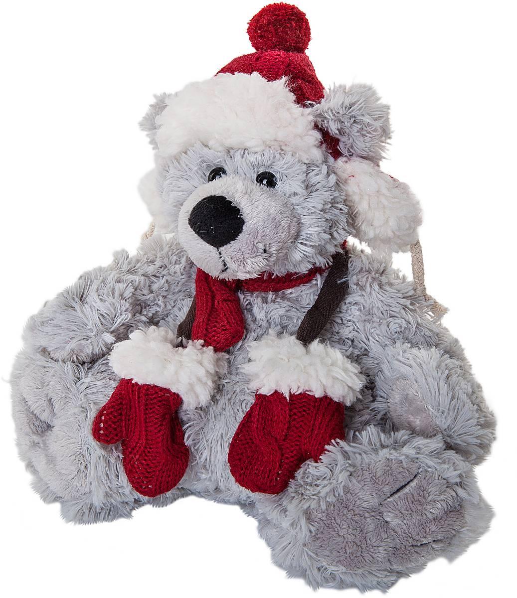 Игрушка новогодняя мягкая Mister Christmas Медвежонок, высота 20 см. WD-LG-R2WD-LG-R2Мягкая новогодняя игрушка Mister Christmas Медвежонок, изготовленная из текстиля, прекрасно подойдет для праздничного декора дома. Изделие можно разместить в любом понравившемся вам месте. Новогодняя игрушка несет в себе волшебство и красоту праздника. Создайте в своем доме атмосферу веселья и радости, украшая дом красивыми игрушками, которые будут из года в год накапливать теплоту воспоминаний.