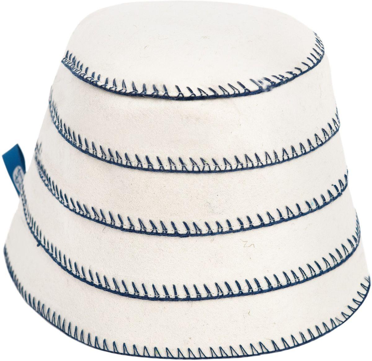 Шапка для бани и сауны Matti (Матти), цвет: бежевый. Размер M. 165165 MИзысканная утонченность шапок Matti (Матти), выполненных из натурального фетра, радует идеальной выделкой шерсти, что делает их удивительно гигроскопичными и защищает от высоких температур в парной. Особые дизайнерские находки нашли свое воплощение в необычном крое и высокой комфортности изделий. Контрастная окантовка привлекает внимание, объединяя благородство форм и лаконичность стиля. Характеристики: Цвет: бежевый. Материал: фетр. Размер шапки: M. Максимальный обхват головы (по основанию шапки): 68 см. Высота шапки: 16 см. Производитель: Россия. Артикул: 165.