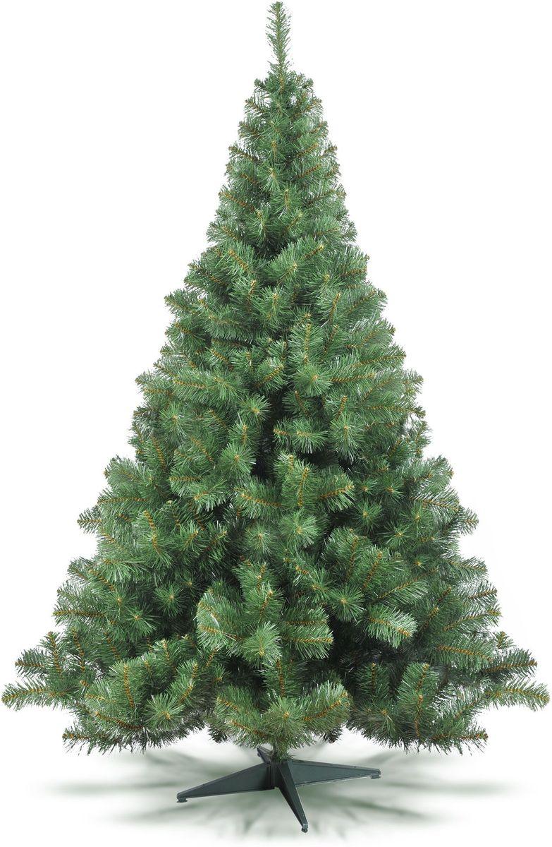Ель искусственная Клеопатра, цвет: зеленый, высота: 150 смК-150Искусственная ель Клеопатра - прекрасный вариант для оформления интерьера к Новому году. Она очень быстро создаст настроение праздника. Остается только собрать и нарядить красавицу. В комплект входит устойчивая подставка.