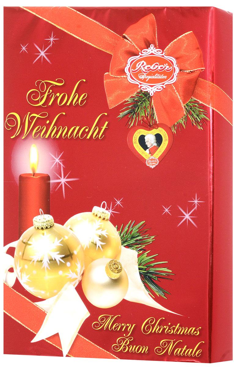 Reber Mozart шоколадные сердечки, 150 г1410108_новогодний дизайнНабор шоколадных конфет Reber Mozart, выполненных в виде сердец, в подарочной упаковке. Конфеты из горького шоколада с начинкой из фисташкового марципана и трюфеля. Знаменитые своим исключительным качеством, оригинальностью и изысканным дизайном, конфеты Reber признаны настоящим сокровищем, принявшим форму маленьких подарков. Уважаемые клиенты! Обращаем ваше внимание, что полный перечень состава продукта представлен на дополнительном изображении.