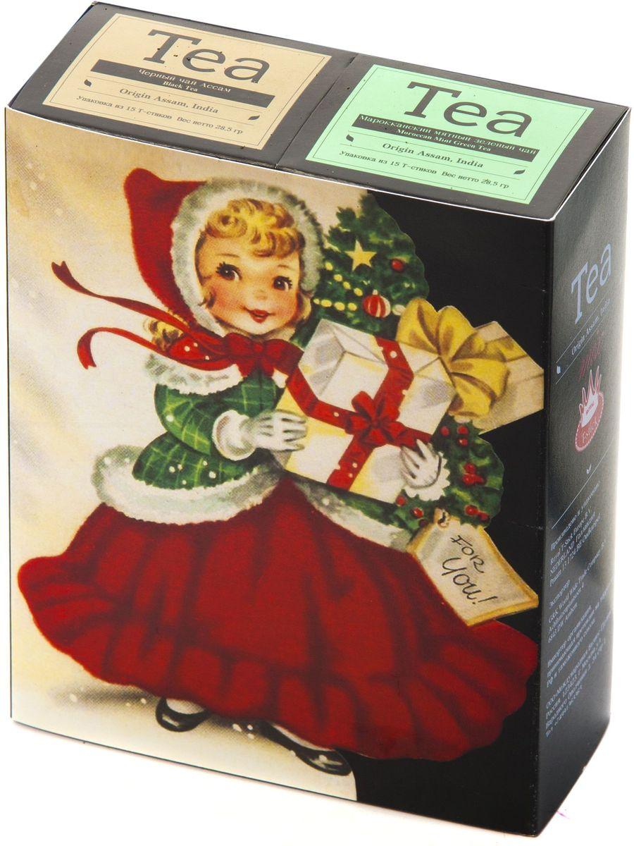 Подарочный набор Royal T-Stick: Mint Green Tea зеленый чай и High Tea черный чай в стиках, 30 шт1612202Подарочный набор из 2- пачек чая премиум класса,упакован в коробку для транспортировки. Натуральный зеленый чай с ароматом мяты порадует вас своим тонким и нежным вкусом. Способствует расщеплению жиров и успокаивает нервную систему. Чай Ассам порадует вас насыщенным ,янтарно -красным цветом, терпким ароматом и пряным, солодово-медовым вкусом . Чай упакован в пищевую фольгу, которую можно использовать вместо ложечки для размешивания сахара. Опустите стик в кипяток, оставьте на 3 минуты, размешайте кусочек сахара. Достаньте стик из стакана, потрясите им о край стакана, так, чтобы стекли последние капли, и положите рядом. Вся влага останется внутри стика.Прекрасный подарок родным и близким,и отличный повод удивить коллег по работе и друзей, внедряя новую, элегантную культуру чаепития!
