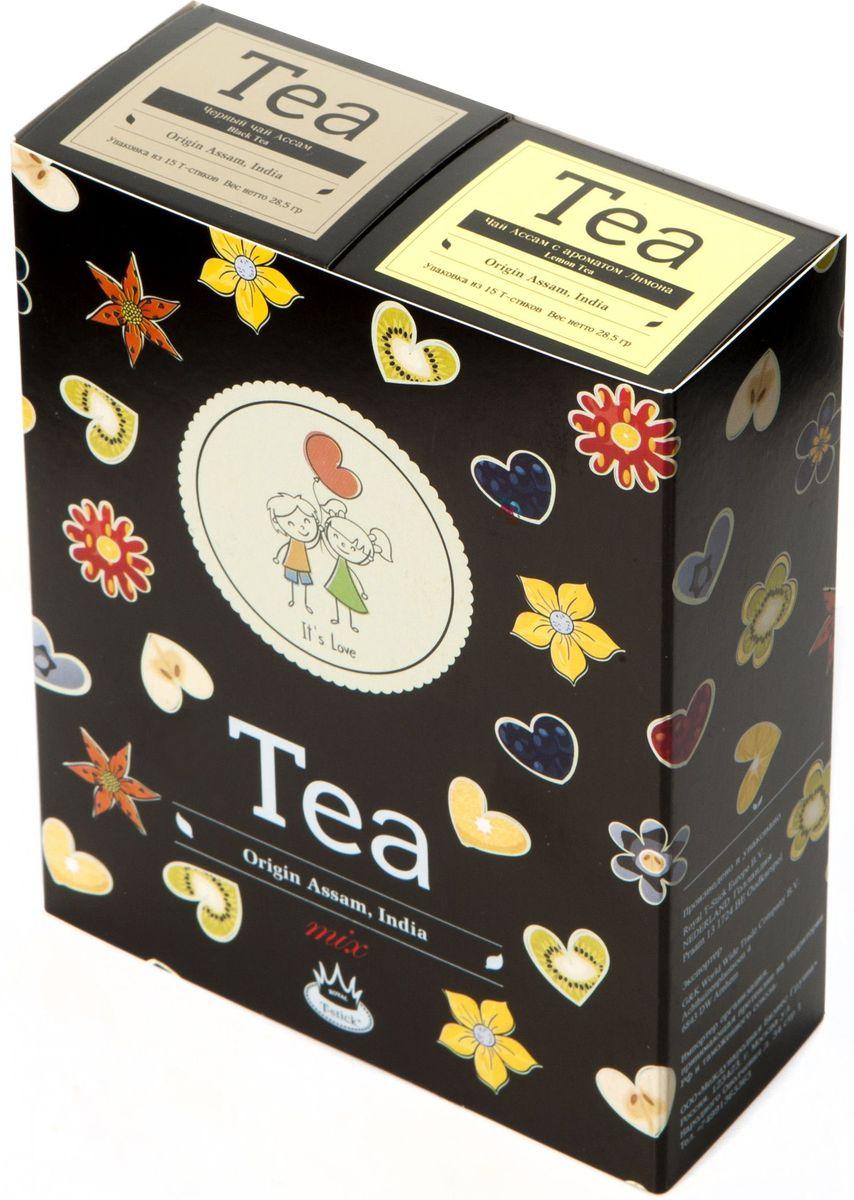Подарочный набор Royal T-Stick: Earl Grey черный чай и Lemon Tea черный чай в стиках, 30 шт2109Подарочный набор из 2- пачек чая премиум класса,упакован в коробку для транспортировки. Чай Ассам с бергамотом порадует вас насыщенным ,янтарно -красным цветом, терпким ароматом бергамота и пряным, солодово-медовым вкусом . Чай обладает тонизирующим свойством. Натуральный черный чай с ароматом лимона порадует вас золотисто-медовым цветом, тонким ароматом лимона, который создается путем смешивания реального лимона и индийского чая из штата Ассам. Чай упакован в пищевую фольгу, которую можно использовать вместо ложечки для размешивания сахара. Опустите стик в кипяток, оставьте на 3 минуты, размешайте кусочек сахара. Достаньте стик из стакана, потрясите им о край стакана, так, чтобы стекли последние капли, и положите рядом. Вся влага останется внутри стика.Прекрасный подарок родным и близким,и отличный повод удивить коллег по работе и друзей, внедряя новую, элегантную культуру чаепития!