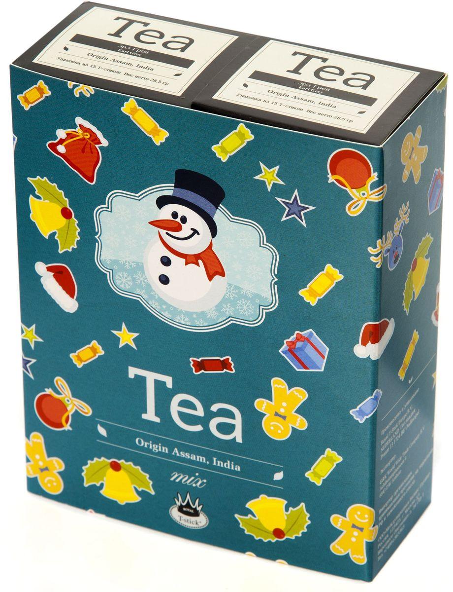 Подарочный набор Royal T-Stick: Earl Grey черный чай и Earl Grey черный чай в стиках, 30 шт78114Подарочный набор из 2- пачек чая премиум класса,упакован в коробку для транспортировки. Чай Ассам с бергамотом порадует вас насыщенным ,янтарно -красным цветом, терпким ароматом бергамота и пряным, солодово-медовым вкусом . Чай обладает тонизирующим свойством. Чай упакован в пищевую фольгу, которую можно использовать вместо ложечки для размешивания сахара. Опустите стик в кипяток, оставьте на 3 минуты, размешайте кусочек сахара. Достаньте стик из стакана, потрясите им о край стакана, так, чтобы стекли последние капли, и положите рядом. Вся влага останется внутри стика.Прекрасный подарок родным и близким,и отличный повод удивить коллег по работе и друзей, внедряя новую, элегантную культуру чаепития!