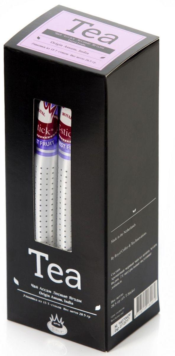 Royal T-Stick, Forest Fruits Tea черный чай в стиках, 15 шт 420RTS 15