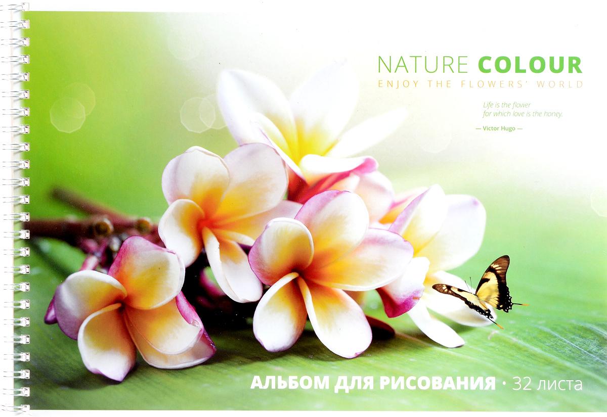 ArtSpace Альбом для рисования Цветы Beautiful Floral 32 листа А32сп_5064