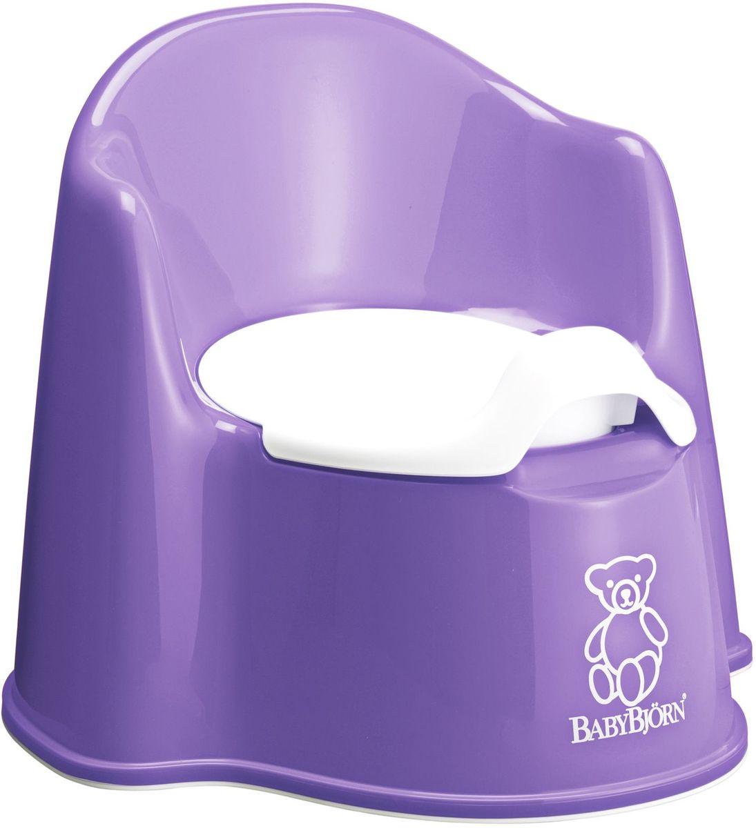 BabyBjorn Горшок-кресло цвет сиреневый