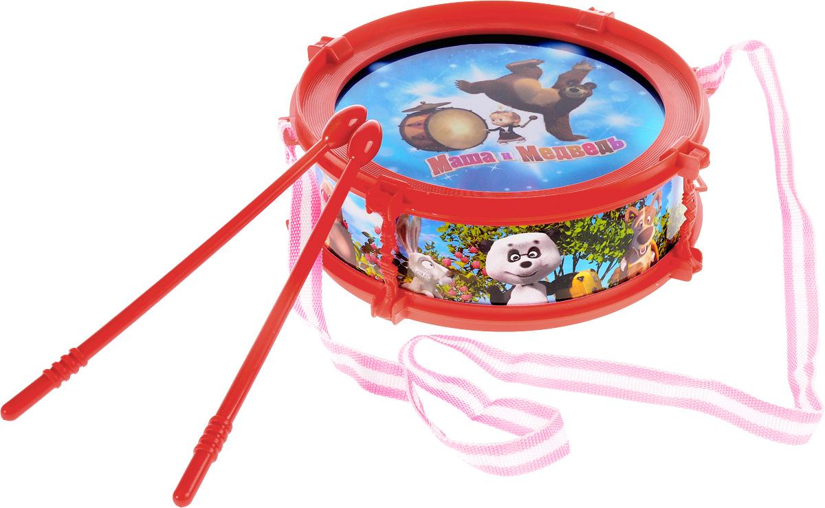 Играем вместе Барабан Маша и Медведь B672011-R2B672011-R2Барабан Играем вместе Маша и Медведь не позволит скучать вашему малышу. Он выполнен из безопасного и прочного пластика, оформлен изображениями персонажей мультфильма Маша и Медведь. Яркая расцветка барабана привлечет внимание и поднимет настроение малыша. Барабан оснащен световым эффектом. Эта веселая игрушка поможет привить ребенку любовь к музыке. Барабан Играем вместе Маша и Медведь поможет развить слух, чувство ритма и музыкальные способности малыша, и он порадует вас веселым концертом!