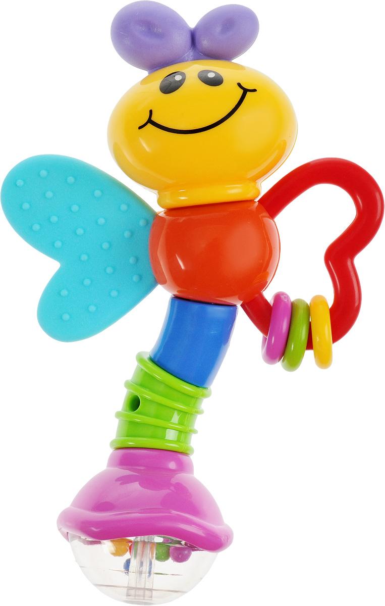 Умка Погремушка-пчелка ЛунтикBB003-RПогремушка-пчелка Умка Лунтик - это яркая веселая игрушка, которая добавит радости в ваш дом, который наполнится улыбками вашего малыша. Игрушка изготовлена из высококачественных материалов, не токсична и не имеет острых углов. Сделана погремушка из качественного безопасного пластика. С такой погремушкой ваш малыш будет изучать цвета и развивать свои осязательные и слуховые чувства восприятия.
