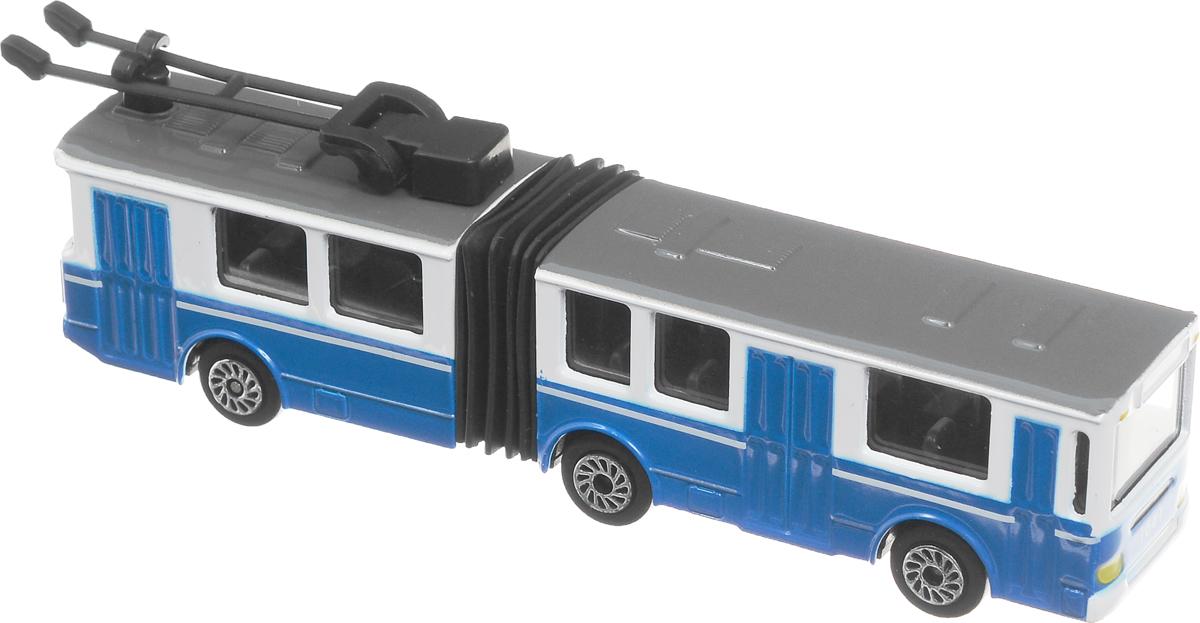 ТехноПарк ТроллейбусSB-15-34-CDUИнерционный троллейбус ТехноПарк выполненный из безопасного металла и пластика, станет любимой игрушкой вашего малыша. Троллейбус оснащен резинкой. Прорезиненные колеса обеспечивают надежное сцепление с любой поверхностью пола. Ваш ребенок будет часами играть с такой игрушкой, придумывая различные истории. Порадуйте его таким замечательным подарком!