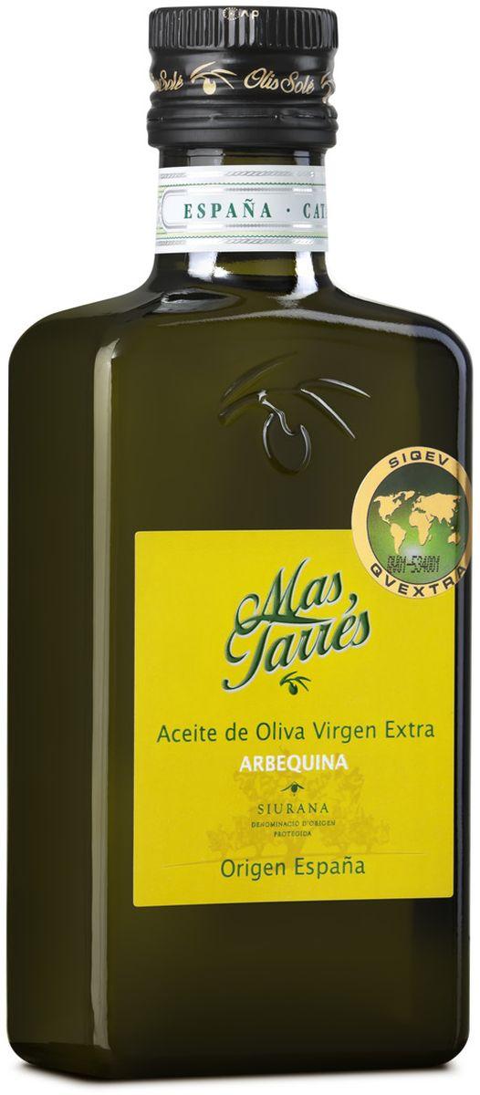 Olis Sole Оливковое масло Extra Virgin Mas Tarres, 250 мл8437001404315Олис Соле Мас Тарес- нерафинированное оливковое масло первого холодного отжима (Extra Virgin Olive Oil) премиум класса кислотностью 0,2%, которая является лечебной по испанским законам. ЭКОЛОГИЧЕСКИЙ ФЕРМЕРСКИЙ ПРОДУКТ из оливок сорта Арбекина раннего сбора урожая. Диетический продукт! Сорт Арбекина берёт своё название от местечка Арбека. Сейчас его главная область культивирования – Каталония. Выращиваются они в экологически безопасной зоне Siurana. Оливки этого сорта маленькие и круглые, с красноватым оттенком и ярко выраженным плодовым привкусом. В ходе культивации этот сорт является самым ближайшим к дикой оливе. Арбекина дает низкую степень урожая - 20 и 22 %. Используется главным образом из за его качества, несмотря на относительную низкую стабильность в урожае. Органолептические особенности настолько превосходны, что очень ценятся во всем мире. Производитель традиционно осуществляет сбор урожая, когда плоды только подступились к своей средней...