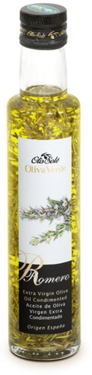 Olis Sole Оливковое масло Extra Virgin с розмарином, 250 мл