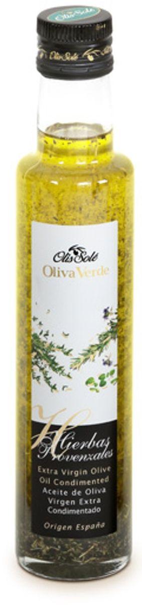 Olis Sole Оливковое масло Extra Virgin с прованскими травами, 250 мл
