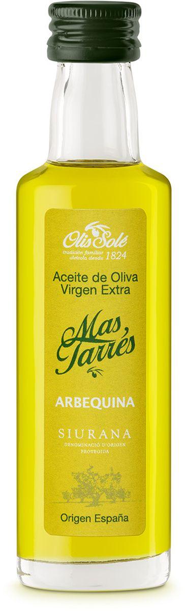 Olis Sole Оливковое масло Extra Virgin Mas Tarres, 40 мл8437001404490Олис Соле Мас Тарес- нерафинированное оливковое масло первого холодного отжима (Extra Virgin Olive Oil) Премиум класса Кислотностью 0,2%, которая является личебной по испанским законам. ЭКОЛОГИЧЕСКИЙ ФЕРМЕРСКИЙ ПРОДУКТ из оливок сорта Арбекина раннего сбора урожая. Диетический продукт! Сорт Арбекина берёт своё название от местечка Арбека. Сейчас его главная область культивирования – Каталония. Выращиваются они в экологически безопасной зоне Siurana. Оливки этого сорта маленькие и круглые, с красноватым оттенком и ярко выраженным плодовым привкусом. В ходе культивации этот сорт является самым ближайшим к дикой оливе. Арбекина дает низкую степень урожая - 20 и 22 %. Используется главным образом из за его качества, несмотря на относительную низкую стабильность в урожае. Органолептические особенности настолько превосходны, что очень ценятся во всем мире. Производитель традиционно осуществляет сбор урожая, когда плоды только подступились к своей средней степени зрелости. Плод уже сочный,...