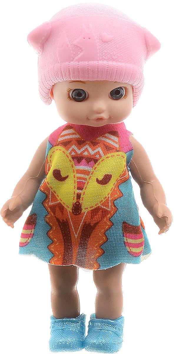 Карапуз Мини-кукла Машенька цвет наряда розовый мультицвет